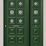 Θωρακισμένες Πόρτες με Επένδυση Αλουμινίου